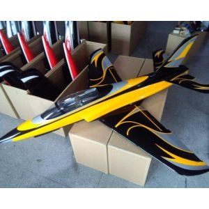 Top RC black yellow Odyssey ARF