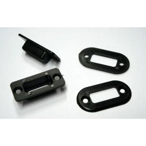 MPX housing + frame, black