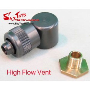 FCT-High Flow Vent 6mm Tube